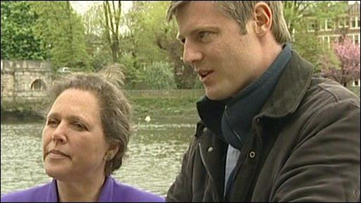 Susan Kramer and Zac Goldsmith