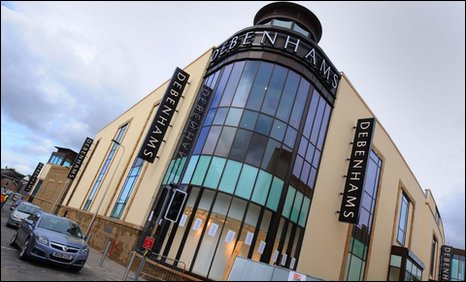The new St Catherine's Walk Centre in Carmarthen