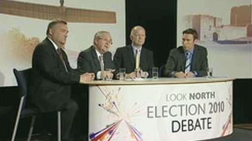 BBC Look North 2010 Election Debate