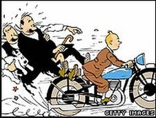 Tintin and the Thompson twins