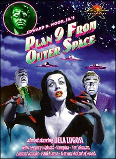 Promo poster for Plan 9 From Outer Space
