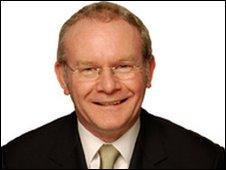Martin McGuinness Sinn Fein