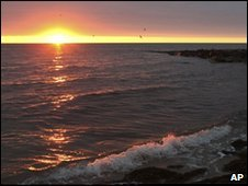 Sunrise on Nantucket Sound (archive image from 2009)