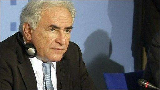 IMF head Dominique Strauss-Khan