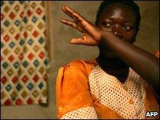 Rape victim, DR Congo.