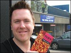Pulse Fringe Festival director Steve Freeman