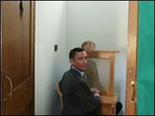 Jockey Frankie Dettori tries out new confessional at Newmarket