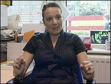 Former teacher Rebecca Morgan-Jones