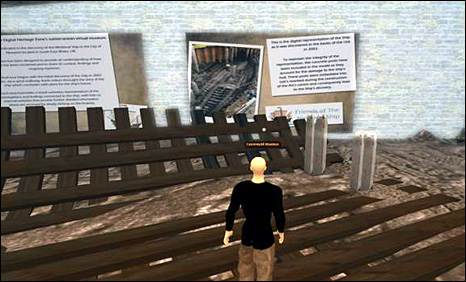 Virtual ship museum