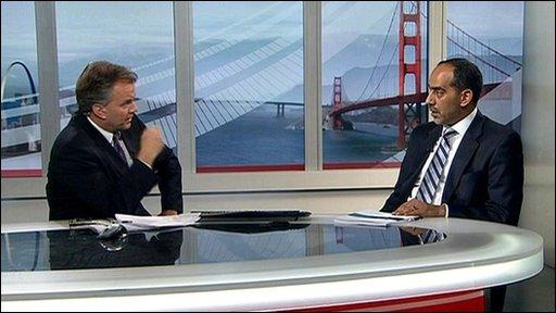 Matt Frei talks to Tarik Yousef
