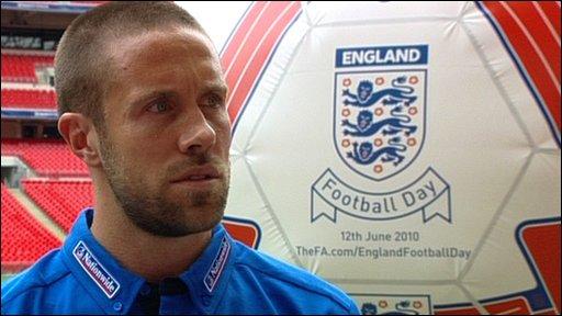 England defender Matthew Upson