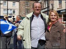 Trevor and Marion Bates