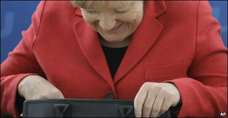 Angela Merkel, 25 Apr