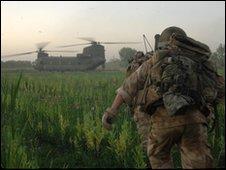 Troops in Afghanistan (PA)