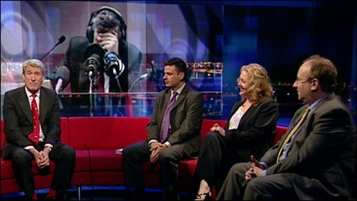 Newsnight's political panel