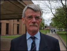 Mark Roberts, from Bangor, Gwynedd, who was assaulted by former Carnage UK organiser Ryan Hilton