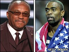 Tommie Smith and Tyson Gay