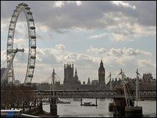 Millenium Eye and Parliament