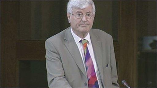 Green MSP Robin Harper led the debate