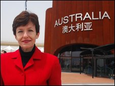 Australian Commissioner General Lyndall Sachs