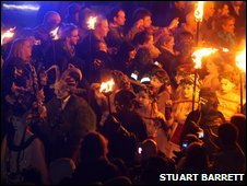 Beltane procession
