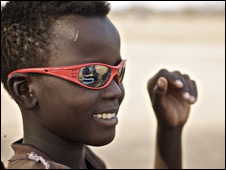 Khalid in sunglasses (Photo by Save the Children's Colin Crowley)