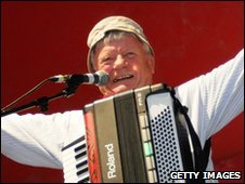 Tommy Banner from The Wurzels