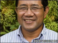 Tuy Sereivathana, head of Cambodian Elephant Group, FFI