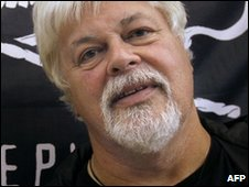 Sea Shepherd activist Paul Watson in Paris (25 March 2010)