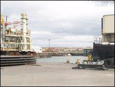 Tall Ships 2010 dock