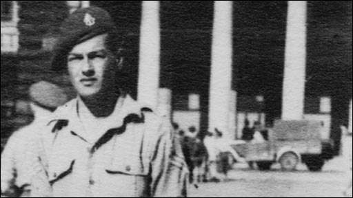 Colin Anson was born in Berlin but fought in the British Army
