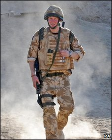 Prince Harry in Afghanistan (PA)