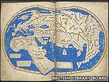 Henricus Martellus World Map, 1489