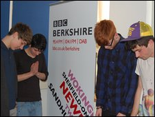 Peers at BBC Radio Berkshire
