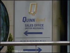 Quinn Insurance employs 600 people in County Fermanagh