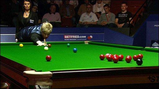 World Championship semi-finalist Neil Robertson