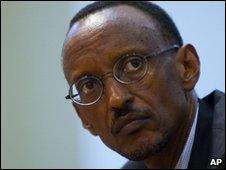 Paul Kagame, 21 April 2010