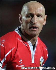 Thomas won 100 caps for Wales as a rugby union player