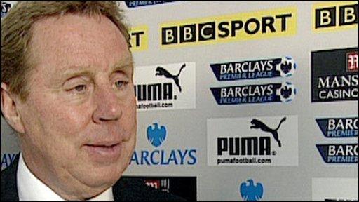 Tottenham's Harry Redknapp