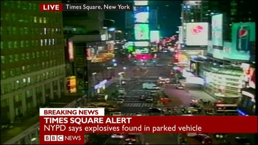 Times Square alert