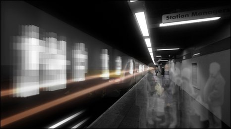 Impression of Sunderland station artwork