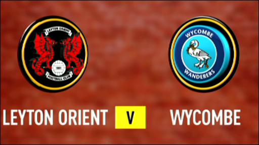 Leyton Orient 2-0 Wycombe