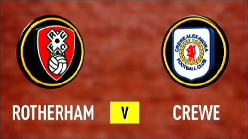 Rotherham 0-0 Crewe