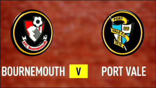 Bournemouth 4-0 Port Vale
