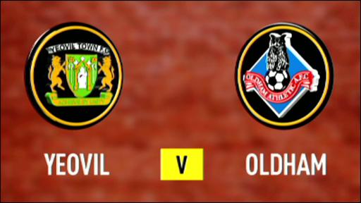 Yeovil 3-0 Oldham