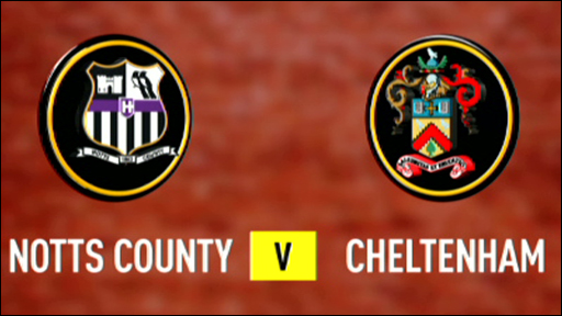 Notts County 5-0 Cheltenham