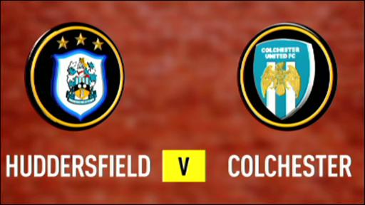 Huddersfield 2-1 Colchester