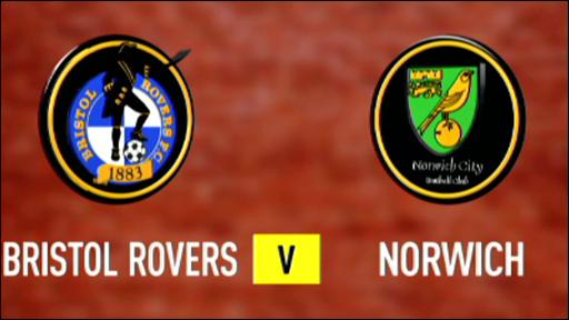 Bristol Rovers 0 -3 Norwich