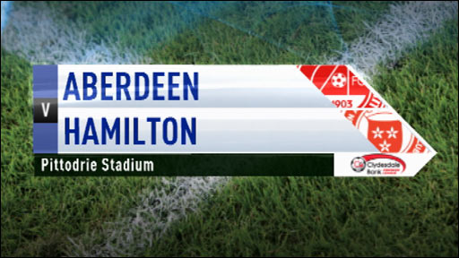 Highlights - Aberdeen 1-3 Hamilton