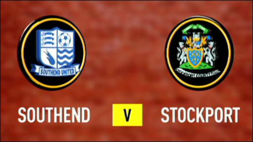 Southend 2-1 Stockport